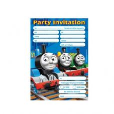 20 Thomas Party Invitations .  sc 1 st  Party On Up & Thomas The Tank Engine And Friends Theme Kids Party Supplies ...